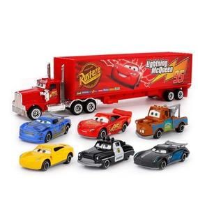 7 Pçs/ Disney Pixar Carros Relâmpago Mcqueen 3 Jackson Te