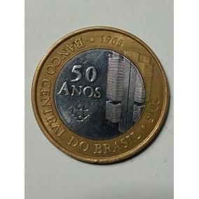 Moeda 50 Anos Banco Central/ 50 Anniversary Central Bank Coi
