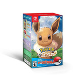Pokémon Lets Go, Eevee Poké Ball Plus Pack Switch A Meses.
