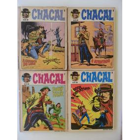 Chacal! Vários! Editora Vecchi - 1980-81!