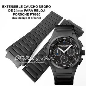 79e9692ca7ab Reloj Porsche Original Aleman Nuevo. Estado De México · Correa Caucho Negro  24mm Para Porsche P