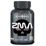 Zma 120 Caps- Black Skull - Estimula Gh Igf-1 E Testosterona
