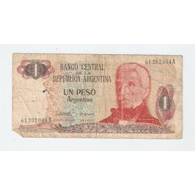 Antiguo Billete 1 Peso Argentino - Serie A 61202044