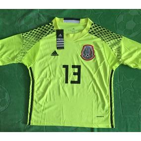 Jersey Portero Arquero México Niño Youth Limón Ochoa 13 430c7ce78214a