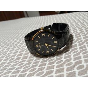 Reloj Citizen Eco-drive Negro Con Dorado Muy Elegante!!