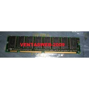 Memoria Dimm Pc133 128 Mb Equipo Servidor Pc Desktop