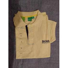 3186f12d232bc Camisa Hugo Boss Pólo Listrada - Calçados, Roupas e Bolsas no ...