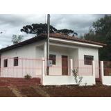 Vendo Casa Localizada Em Cruz Machado - Pr