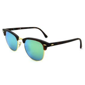 2fed9df74d806 Lindo Ray Ban Rb3016 Clubmaster Branco Lente Verde G15 - Óculos De ...