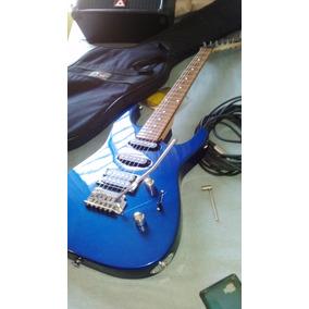 Combo Guitarra Eléctrica Jackson Dinky Y Amplificador Peavey