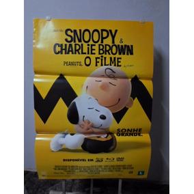 Poster Snoopy & Charlie Brown - O Filme - Frete: 8,00
