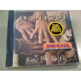 Bon Jovi Keep The Faith Cd Lacrado Fabrica U.s.a: Importado