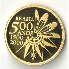 20 Reais 500 Anos Descobrimento Brasil 8g Ouro Ø22mm Fc Au06