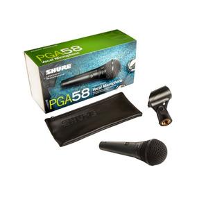 Micrófono Para Voces Shure Pga58-xlr