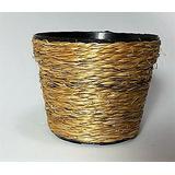 Mini Vaso Cachepot Decoração De Mesa Kit C/ 25 Sisal