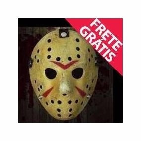 03(treis) Mascara Macabra Jason Halloween Bruxa Panico
