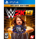 Wwe 2k19 Digital Deluxe Edition Ps4 Digital Gcp
