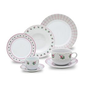 Aparelho De Jantar Porcelana 42 Peças Class Home - Promoção
