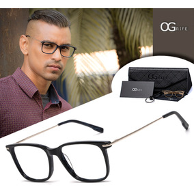 Armação Oculos Ogrife Og 1098-c Masculino Com Lente Sem Grau 560daeccd8