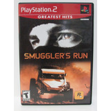 Ps2 - Smuggler´s Run Game Original E Completo Com Manual