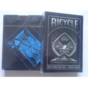 2 Baralhos - Bicycle Shadow Masters + Black Pvc Ilusionistas