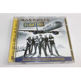 Cd Iron Maiden Live Flight 666