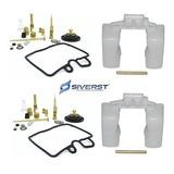 Kit Reparo Carburador + Boia (02 Pares) Cb 450 Siverst