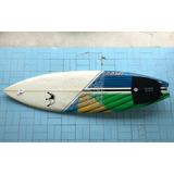 Prancha De Surf Tbs + Quilhas Fcs Am 3 + Deck Bullys + Sup G