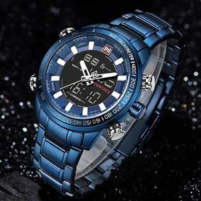 Relógio Masculino Militar Esportivo Luxo Naviforce Original