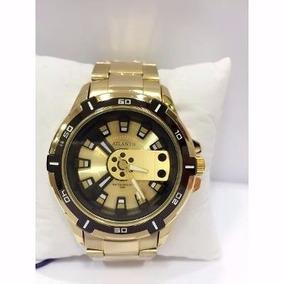 df7a7e4869f Réplica Invicta Yakuza. Usado · Relógio Original Atlantis Ck Dourado  Masculino Frete Gratis