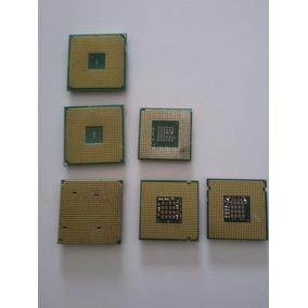 Kit Com 6 Processadores Usados, Amd E Intel