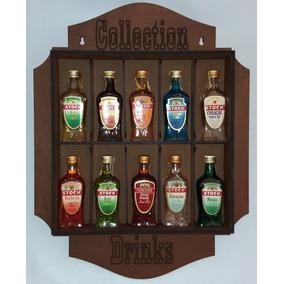 Miniaturas Bebidas Para Colecionadores 10un. E Expositor