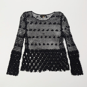 Blusa Calada Negra Swbell103/13 Tienda Oficial