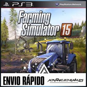 Farming Simulator 15 - Português - Jogos Ps3 Midia Digital