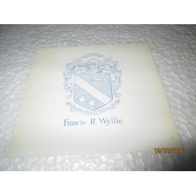 Ex-libris Francis R. Whyllie, Hieráldico