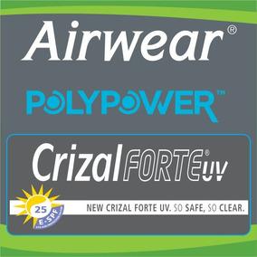 Lente Airwear 1,59 Surfaçada Até -10,00 Crizal Forte 600f780033