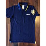 24ff25fdd2 Camisa Polo Masculina Reebok P Azul Nova Importada Original