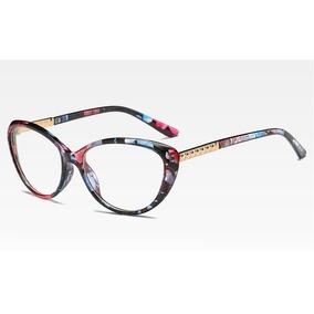 d91d43281b8c1 Óculos De Grau Feminino - Óculos Azul violeta no Mercado Livre Brasil