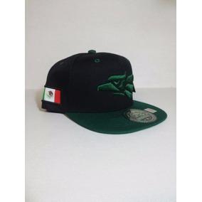 Gorra Snapback Hecho En Mexico Aguila Y Bandera Verde Negro 276f136d26c