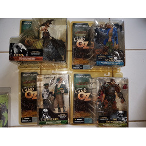 Coleção Action Figure Spawn Mcfarlane Twisted Land Of Oz