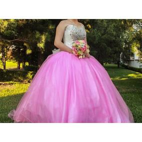 Vestido De Xv Años Rosa Pastel