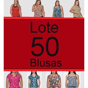 50 Blusa Camiseta Regata Senhora G Até Plus Size Atacado