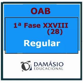 Oab Xxviii (28 Damasio) 1°fase + Brindes