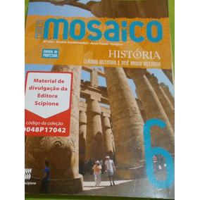 Livro 6 Ano Manual Do Professor Hostória Prejeto Mosaico