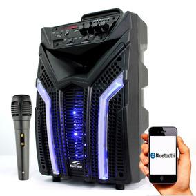 Caixa De Som Amplificada Elegance 1000w Potente Bluetooth