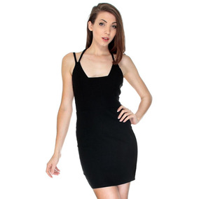 L - Black - Caliente Mujeres Sexy Verano Vendaje Bodyco-4104