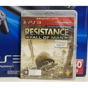 Jogo Resistance Fall Of Man Playstation 3 Ps3 Midia Fisica