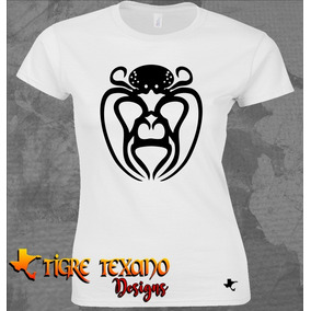 Playera Lucha Libre Mil Máscaras Pulpo Tigre Texano Designs