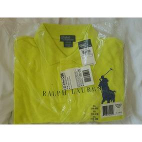63cec97a54674 Camisa Ralph Lauren Polo - Pólos Amarelo no Mercado Livre Brasil