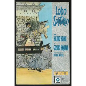 Lobo Solitário Hq Gibi: Lote Com 6 Revistas - Ed. Cedibra
